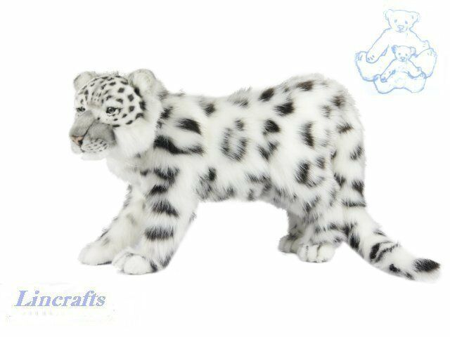 Hansa Standing Snow Leopard 7000 Soft Toy Sold by Lincrafts Established 1993