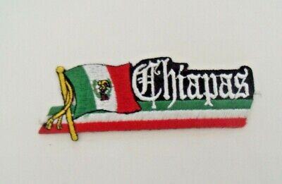 Guerrero Mexico Flag Patch Bandera Colors