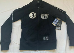 NWT NBA 4 Her New Jersey Nets Zip Up Sweatshirt (Medium)
