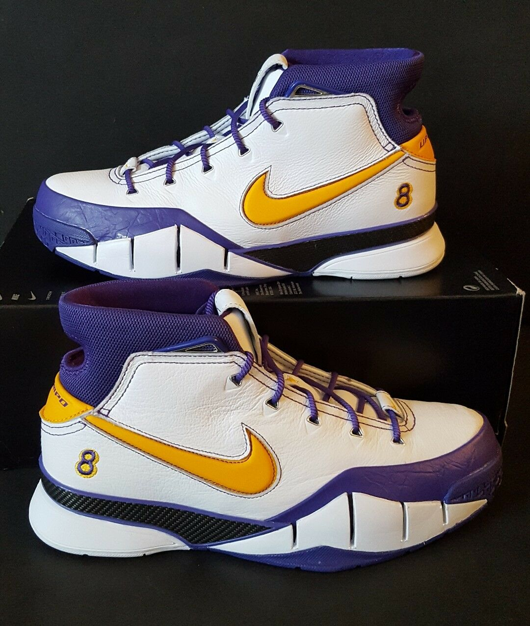 Nike Kobe 1 Protro Think 16 Close Out Final Seconds AQ2728-101 Mamba Sz 10.5