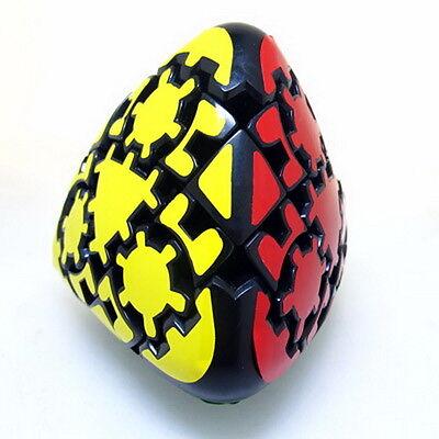 Black Lanlan Gear Mastermorphix Pyramid Magic Cube Twist Puzzle Great Collection