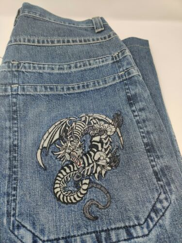 90's Vintage Denim Jnco Jeans Dragon
