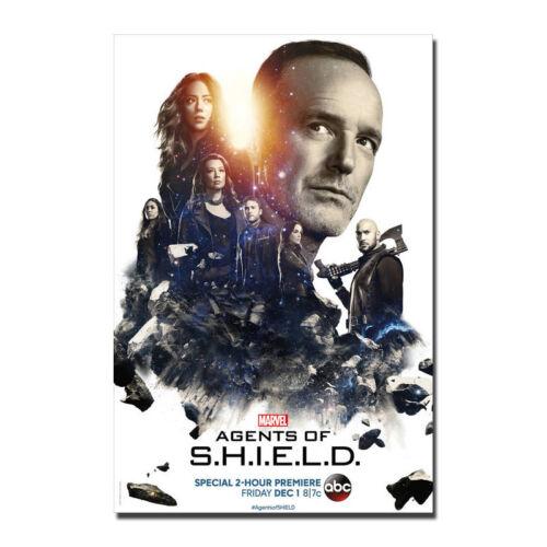 Season 5 Art Canvas Poster 8x12 24x36 inch Marvel/'s Agents of S.H.I.E.L.D