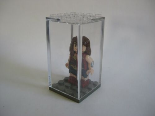 NEW Clear 4x4 size Dust Free! Display Case for Lego Minifigures