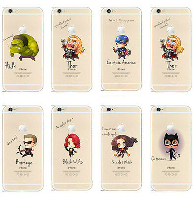 Cartoon Hero Spider Skin Phone Case Soft Cover Shell For iPhone 5 5S 5C 6 6S