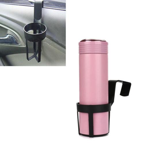 1Pc Universal Car Seat Stand Mount Bottle Drinks Cup Holder Plastic Black Hanger