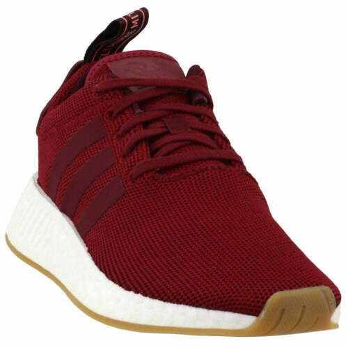 Burgundy Mens adidas NMD/_R2 Sneakers Casual