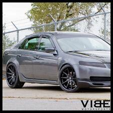 MiRO Type Black Concave Wheels Rims Fits Acura TL EBay - 2005 acura tl wheels