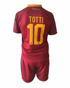 Maglia Calcio TOTTI Ufficiale Roma 2019-2020 FRANCESCO N 10 ROMA ...