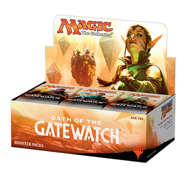 MTG - 4 x Factory sealed English Oath Oath Oath of the Gatewatch booster box 4 BOXES  a7d70c