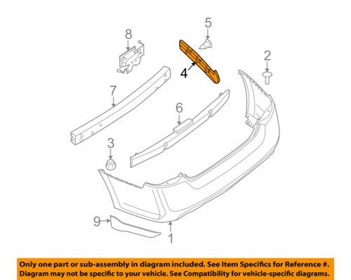 NISSAN OEM 09-14 Maxima Rear Bumper-Side Retainer Bracket Left 85221ZX70A