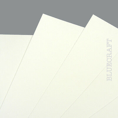 60 x A5 White Prestige Blank Invitation Cards 400gsm - Weddings Parties Events