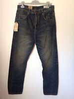 100% Auth By Allsaints Gun, Carrot Fit Mens Jeans. 29 Rrp £139