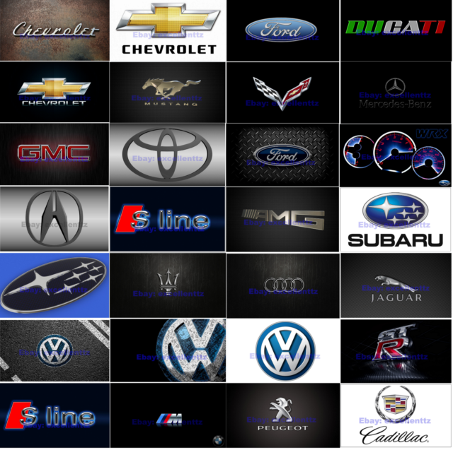 Car Logo S-LINE WRX VW AUDI BMW M Flag Free Shipping Size 3x5FT 90x150cm