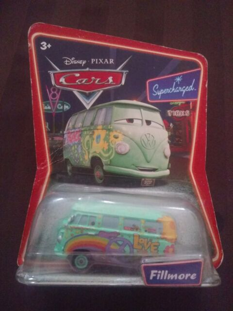 Disney Pixar Cars Fillmore Supercharged Diecast Series In Package Hang Tag