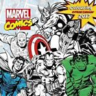 Marvel Comics Classic Official 2017 Colouring Calendar - Square 305x305mm Wall C
