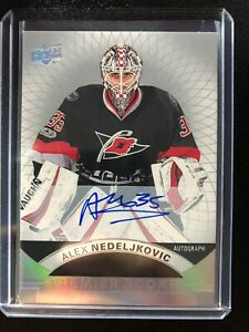 2017-18-UD-Premier-Rookie-Alex-Nedeljkovic-Carolina-Hurricanes-Auto
