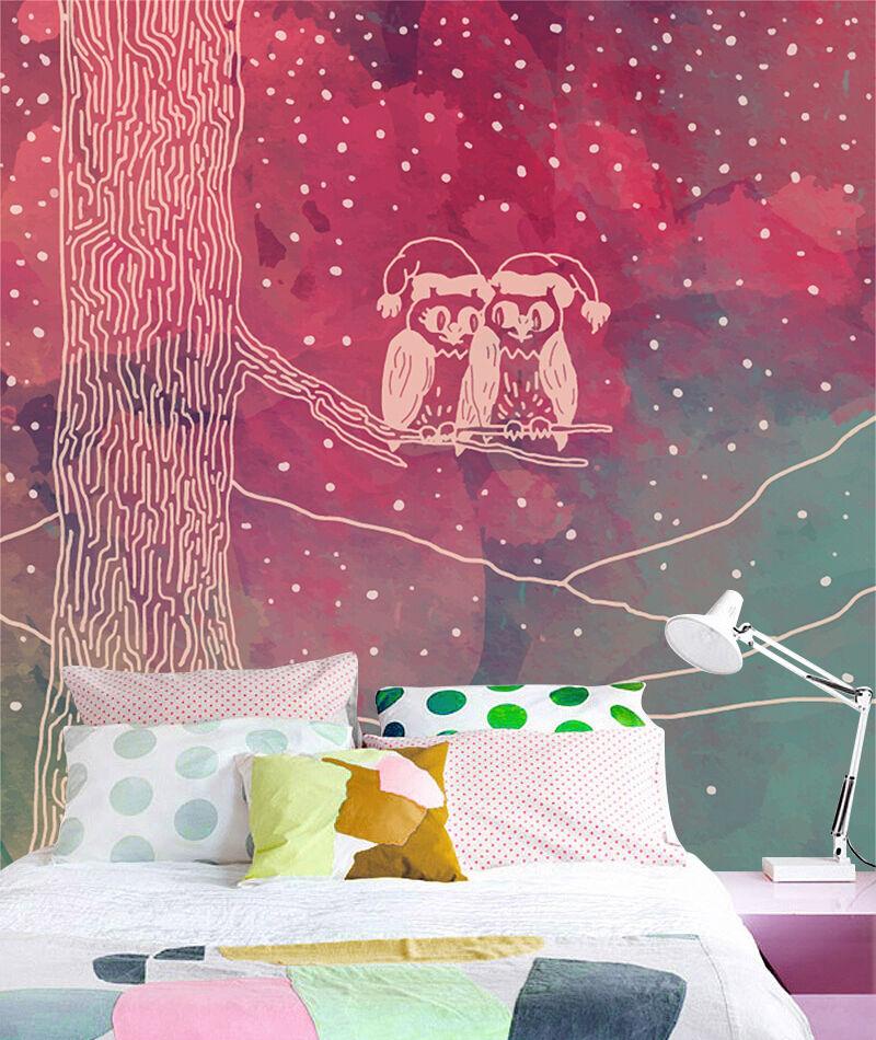3D Weihnachten Farbbild 25 Fototapeten Wandbild BildTapete Familie DE