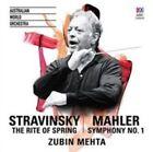 Rite of Spring Mahler Symphony No 1 Aus 0028948108473 CD P H
