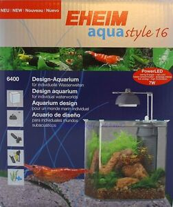 Eheim Aquastyle 16 Design-aquarium 6400 16l Nano Aqua Style Acqua Dolce 6400020 Pet Supplies Fish & Aquariums