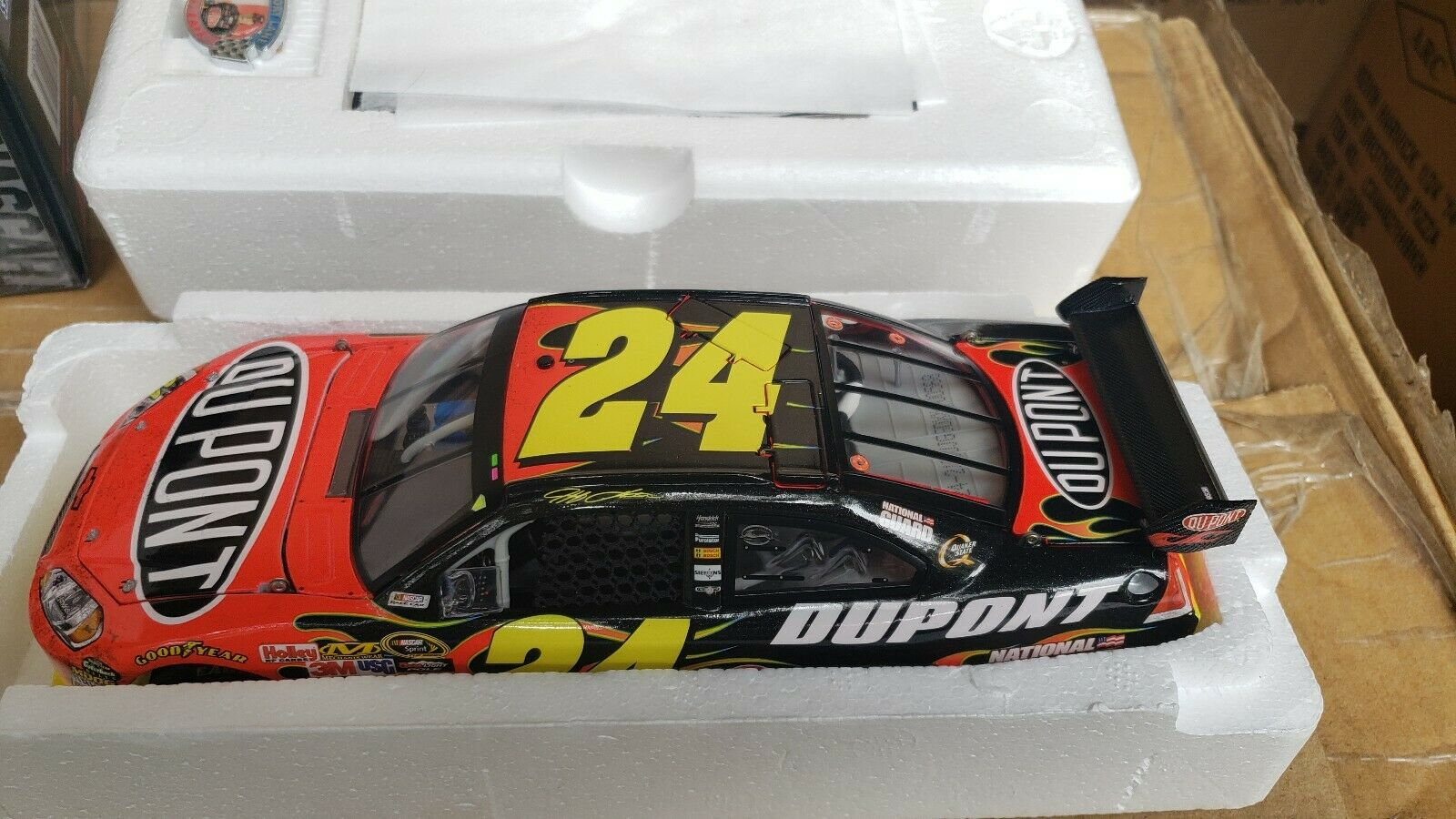 2009 Jeff Gordon  24 Dupont Gatorade Daytona Dual Race Win ARC car 1 of 568 Duel