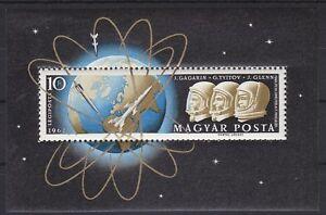 Ungarn-1962-Mi-Block-33A-034-Weltraumfluege-034-postfrisch