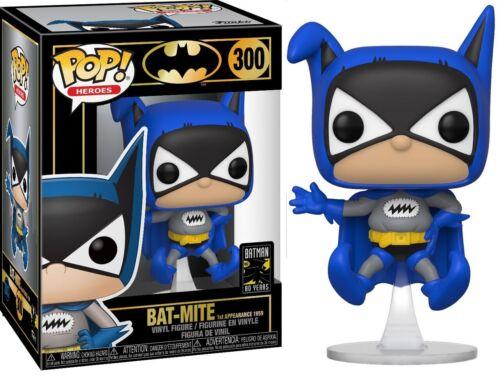 DC: BATMAN 80TH-Bat-Mite FUNKO POP Prima apparizione 1959 Figura in vinile #300