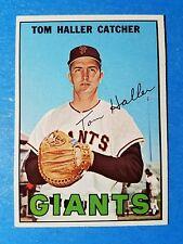 1967 TOPPS BASEBALL #65 TOM HALLER  NM++ VINTAGE