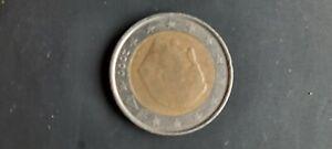 Belgium 2 Euro Rare Mint Error