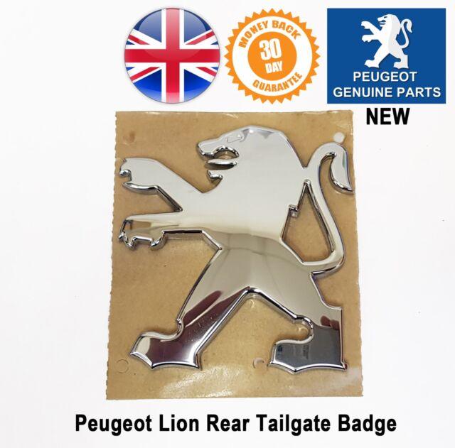 Genuine 308 Tailgate Boot Badge Lion Emblem Logo Badges Emblems 7810S3