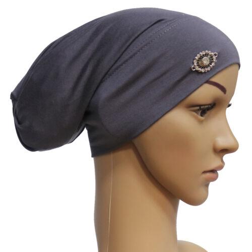 Womens Cancer Hat Chemo Cap Muslim Hair Loss Head Scarf Turban Head Wrap Cover