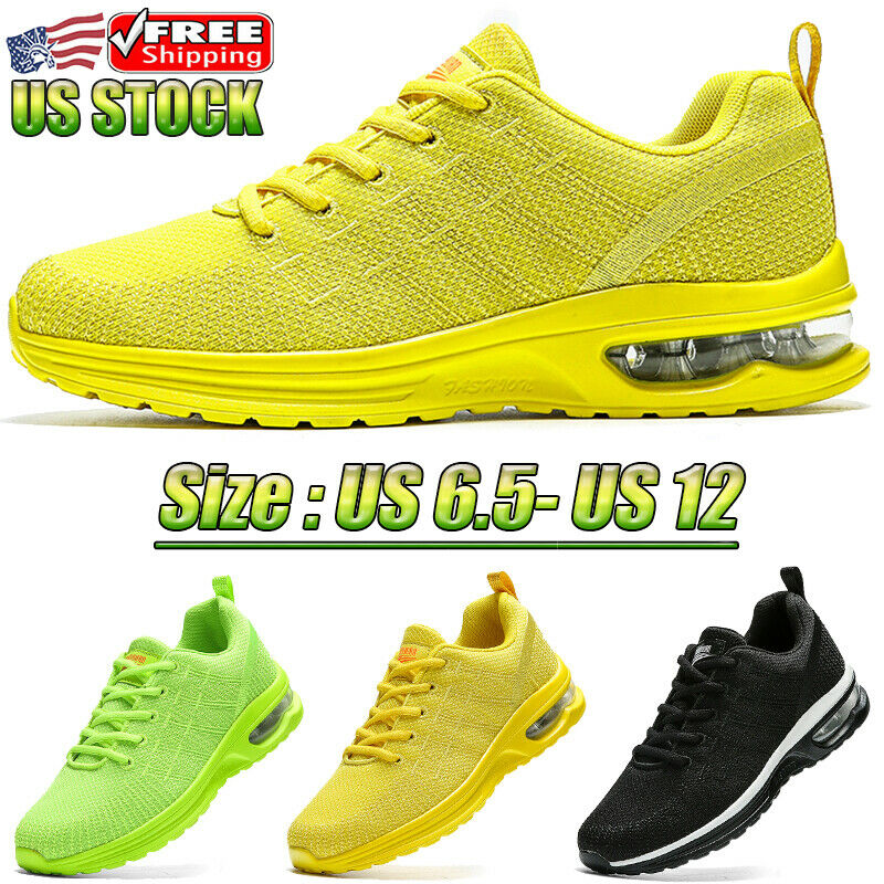 Men's Air Cushion Running Shoes Athletic Gym Tennis Sneakers Walking Comfortable