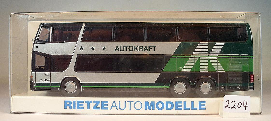 Rietze 1/87 Setra s 328 328 328 dt auto fuerza DB zugbus 41 OVP 2205 da1abc