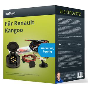 Elektrosatz 7-pol universell für RENAULT Kangoo 02.2008-05.2012 NEU