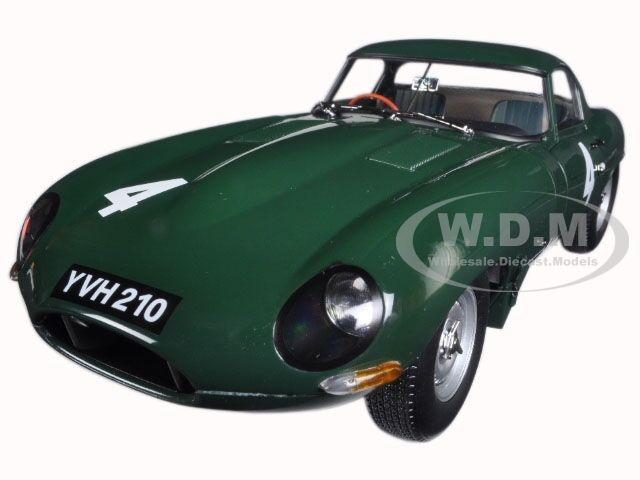 JAGUAR LIGHTWEIGHT E-type Sutcliffe YVH210  4 vert modèle 1 18 par Paragon 98342