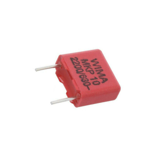 55-1 10X MKP1J012202C00KSSD Kondensator Polypropylen 2,2nF 7,5mm ±10/% 10x4x9mm