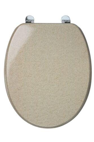 Croydex Universal Toilet Seat Easy Clean Oval Shape Durable Bathroom Adjustable