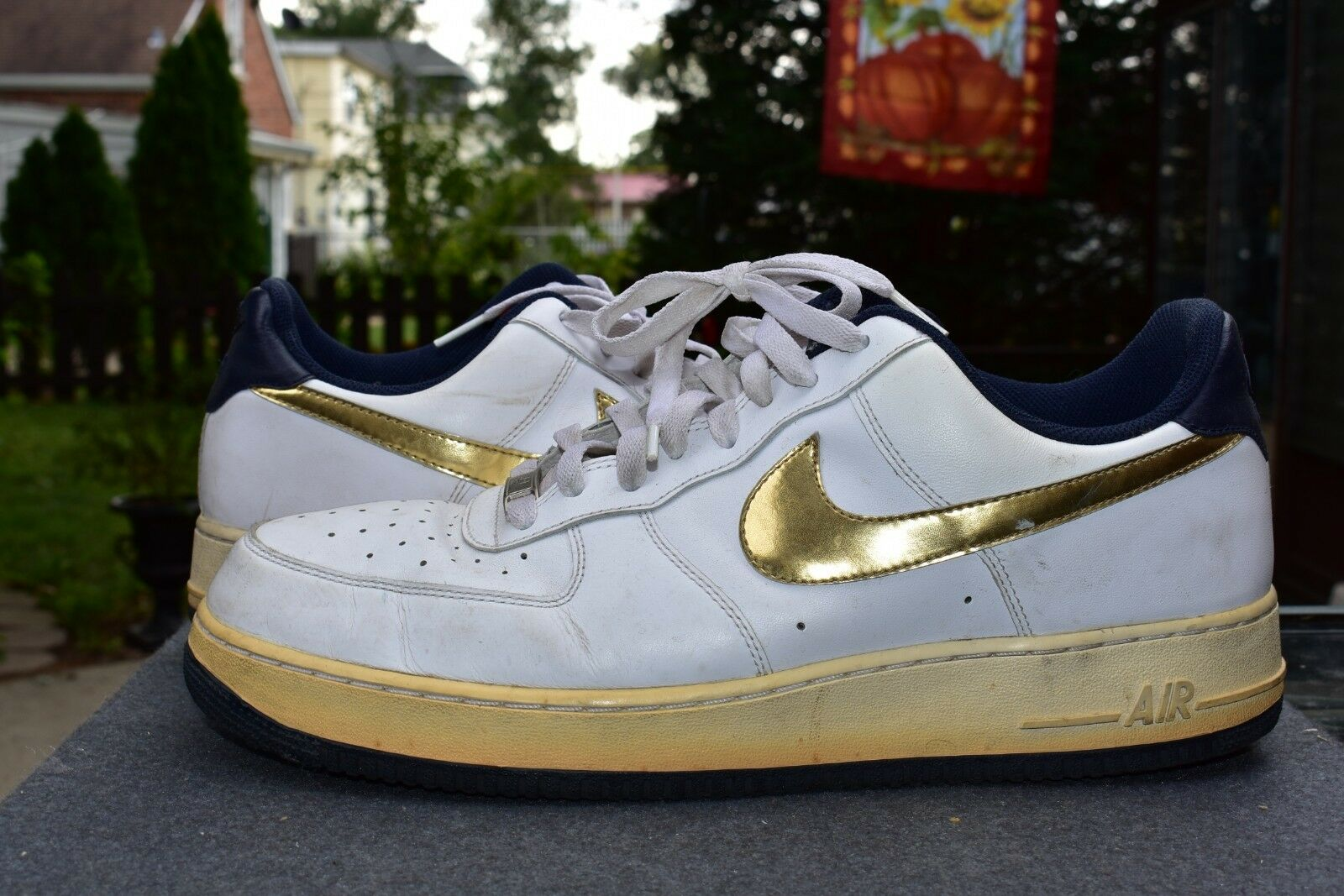 Nike Air Force 1 Olympic Gold Medal Low Top  315122-171 Men's Size 13