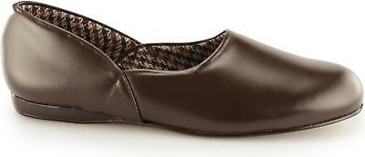 Sleepers ABRAHAM MS092 All Leather Deluxe Grecian Slippers