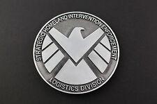 AGENTS OF S.H.I.E.L.D SHIELD METAL BELT BUCKLE MARVEL COMIC BOOK MOVIE