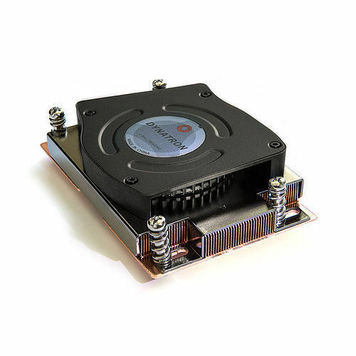 Dynatron A48G Active 1U Copper CPU Cooler Heatsink Fan for Socket AM2 AM2 AM3