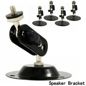 5x-Surround-Sound-Speaker-Universal-Holder-Stand-For-TV-Bracket-Wall-Mount-GW