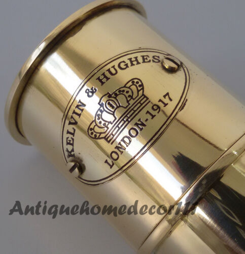 Collectible Vintage Nautical Telescope Brass Pirate Spyglass Scope Marine Scope