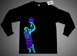 NWT Fnly94 Fadeaway Long Sleeve crewneck t-shirt match aqua jordan 8 viii M L XL