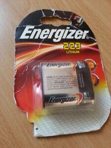 Energizer-Batterie-223-Lithium-6-Volt-Neu-Unbenutzt