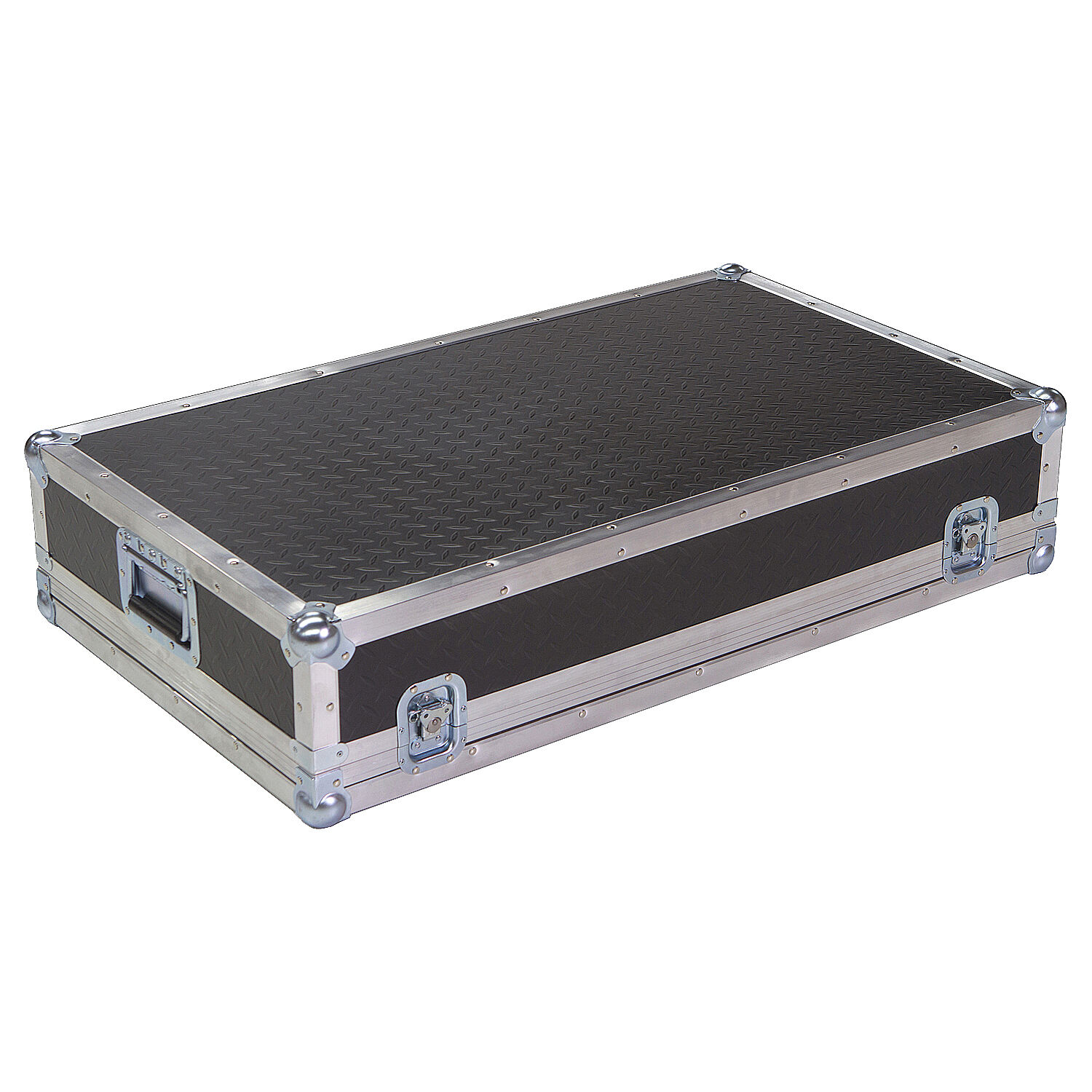 Diamond Plate Light Duty 1 4  ATA Case For SOUNDCRAFT LX7 32 CHANNEL Mixer