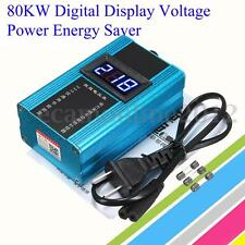 110-220V 80KW 10-35% LED Power Energy Saver Electricity Bill Killer  Saving Box