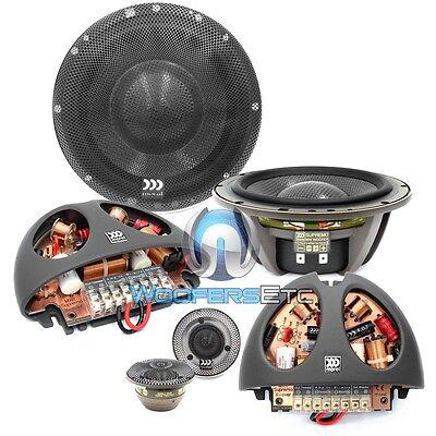 """MOREL SUPREMO 602 6.5"""" PRO 2-WAY CAR AUDIO COMPONENT MIDS TWEETERS SPEAKERS NEW"""