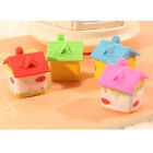 Pencil Eraser Erasers House Shaped Lovely Rubber Students Office Stationery