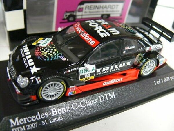 Minichamps MB Classe C DTM 2007 M. LAUDA  18 400073618